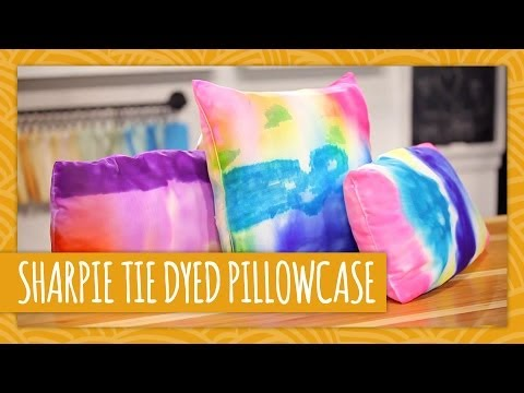 Diy Tie Dyed Pillowcase Hgtv Handmade Youtube