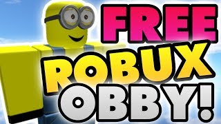 CE ROBLOX MINION OBBY GIVES FREE ROBUX!? (INSENSÉ!)