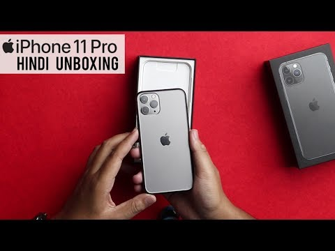 IPhone 11 Pro Hindi Unboxing And Impressions.