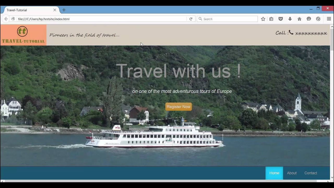 Bootstrap Tutorial - How to design a website using Bootstrap in ...