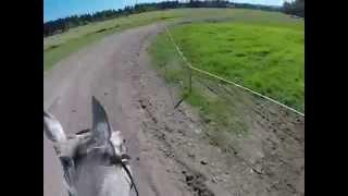 Snap Decision (fuzzy) and Jeanine Allred Intermediate helmet cam. aspen farms sept.2014