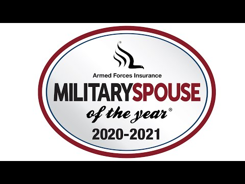 Armed Forces Insurance Military Spouse of the Year® Awards Ceremony