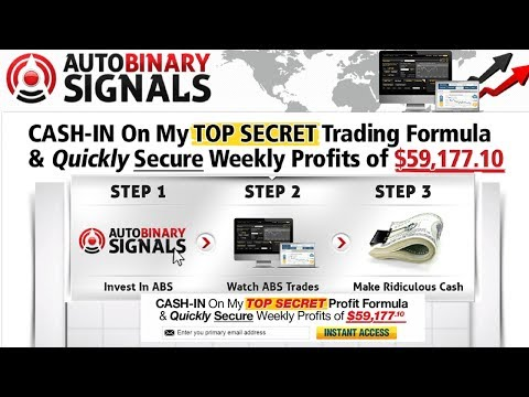 Auto Binary Signals Review - Roger Pierce's Auto Binary Signals Does It Work?
