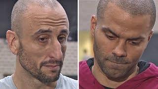 Manu Ginóbili & Tony Parker Emotional Reaction To Gregg Popovich's Wife Passing Away