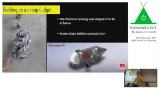 From Tupperware to Autonomous Underwater Vehicle by Goh Eng Wei