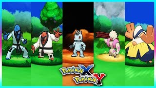 Pokemon X and Y   SawkThrohMachopGurdurr and Hariyama Locations