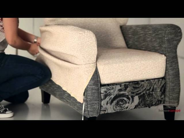 housse canape relax youtube