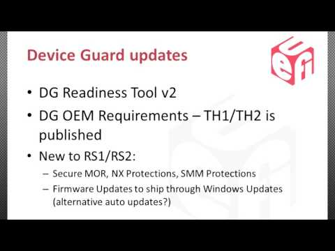 Microsoft UEFI Security Update - YouTube