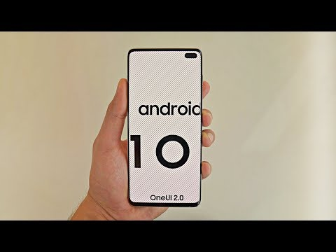 Samsung Galaxy S10 Android 10 One UI 2.0 FIRST LOOK