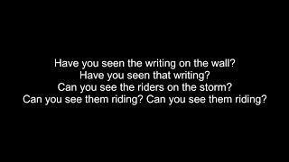 Iron Maiden - The Writing On The Wall Lyrics