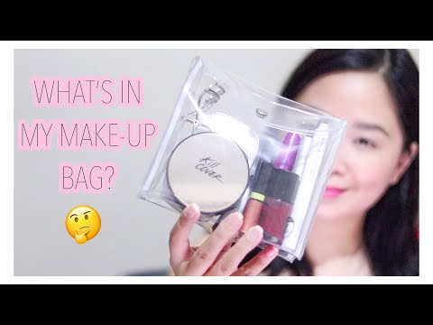WHAT'S IN MY MAKE-UP BAG? + my holy grail products! 💕