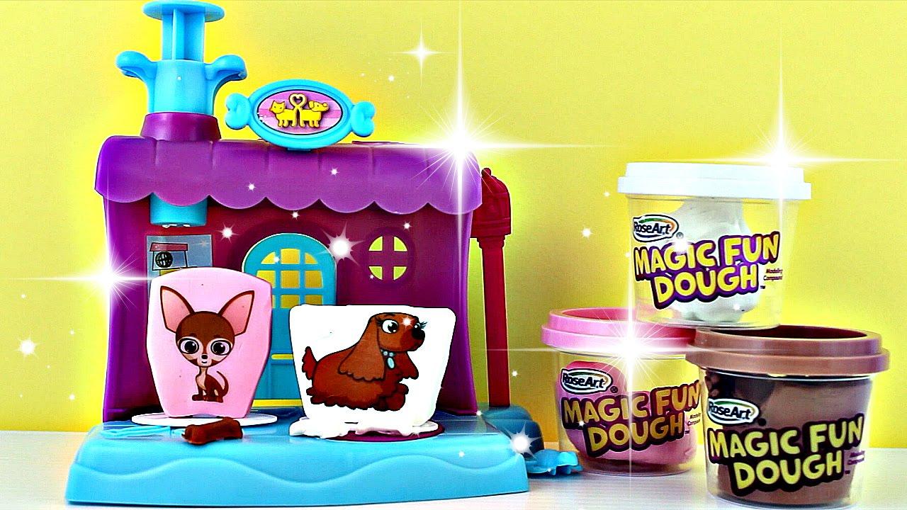 plastilina magic dough pet shop play set play doh p 226 te 224 modeler college