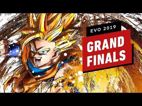 Dragon Ball FighterZ Evo 2019 Grand Finals (Go1 VS Sonicfox)