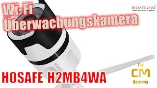 HOSAFE H2MB4WA Test: Megapixel Security Camera Wi-Fi & microSD - Han...