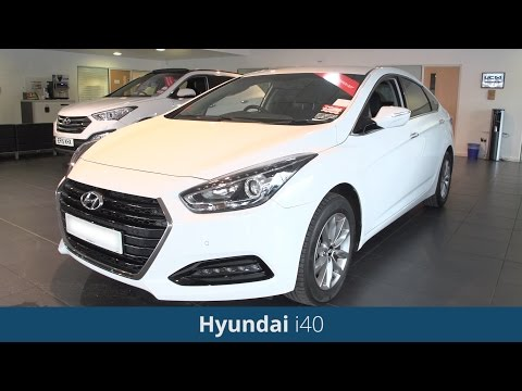 Hyundai i40 2016 Review