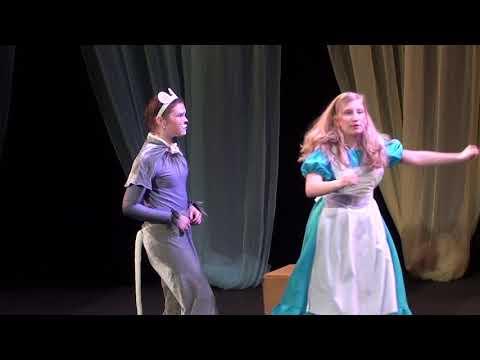 Алиса в стране чудес - часть 1