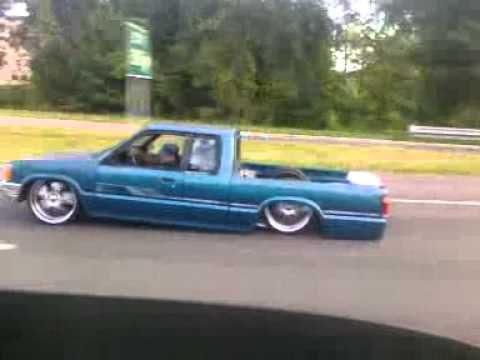 Rolling In 93 Mazda B Low On 22 Inch Wheel