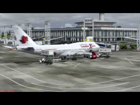 Canadian Xpress June 2017 AM Fly In - Kai Tak