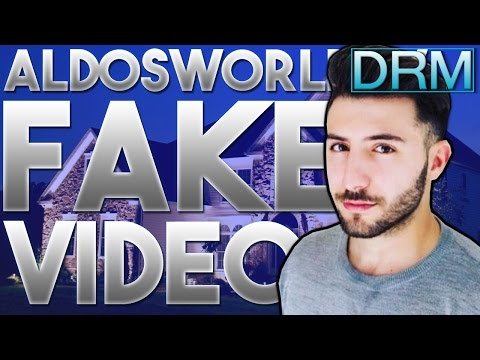 """FAKE AldosWorld TV Video """"24 HOUR OVERNIGHT at a STRANGERS HOUSE"""" (FAKE 24 HOUR CHALLENGE EXPOSED)"""