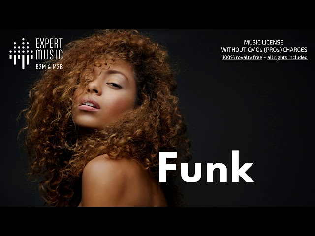 Funk - licensed music for business