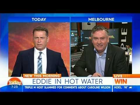 Eddie McGuire on Today Show 20160620