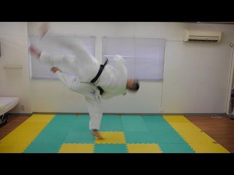 【衝撃】柔道の「山嵐」やってみたらスゴく飛んだ!