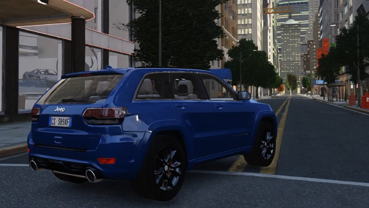 2015 jeep grand cherokee srt8 - gta iv - youtube