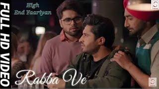 Rabba Ve Song | B Praak | High End Yaariyan | rabva ve | rabba whatsapp status