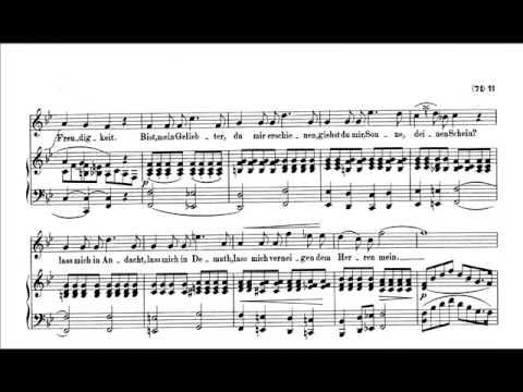 """Schumann:""""Frauenliebe und Leben"""" (complete) sung by Kathleen Ferrier,contralto - with score"""