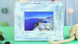 How to Make a Vintage Photo Frame