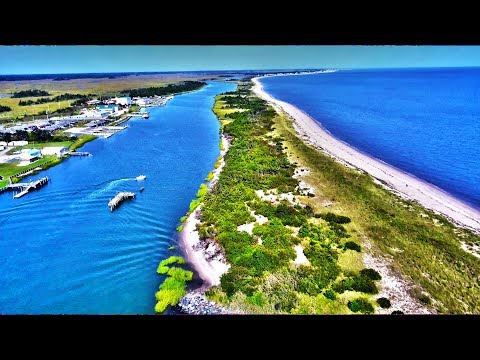 Mavic PRO Drone 4K RAW Footage Ocean and Canal Water