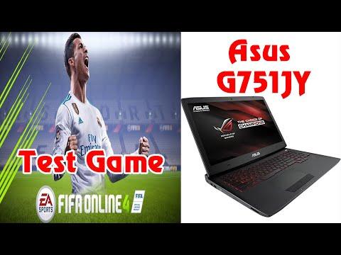 Test fifa online 4 với laptop Asus G751JY   Real Madrid vs France
