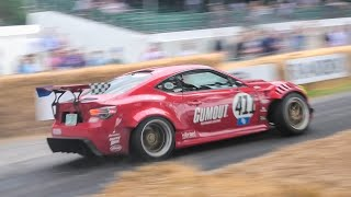 2019 Goodwood Festival of Speed BEST of Drift cars Day 1 - Burnouts, power slides, Donuts & more!!