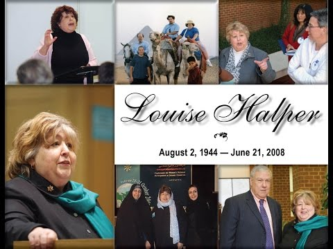 Louise Halper Memorial Service - Washington & Lee University