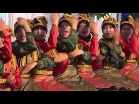 The clapping dance from Bandar Aceh, Indonesia