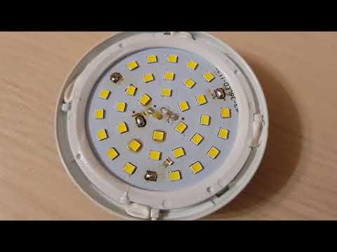 Простой ремонт светодиодной лампы