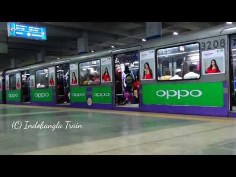New Kolkata Metro Rail of India /কলকাতার মেট্রো রেলগাড়ি thumbnail