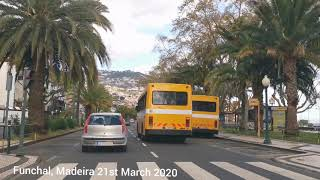 Funchal Madeira 21st March 2020