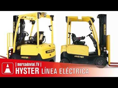 Autoelevadores HYSTER ELÉCTRICOS | Mercado Vial TV | Grúas Horquilla