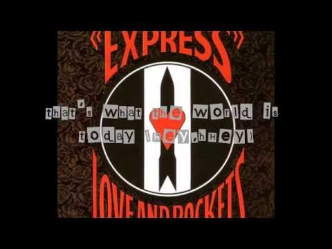 Love and Rockets - Ball of Confusion (That's What the World Is Today)[USA Mix] (Lyrics)