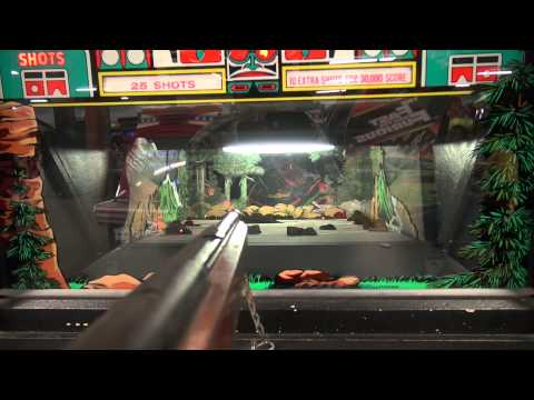 John goes to the Cedar Point Arcade in Sandusky, Ohio - Amusement Park