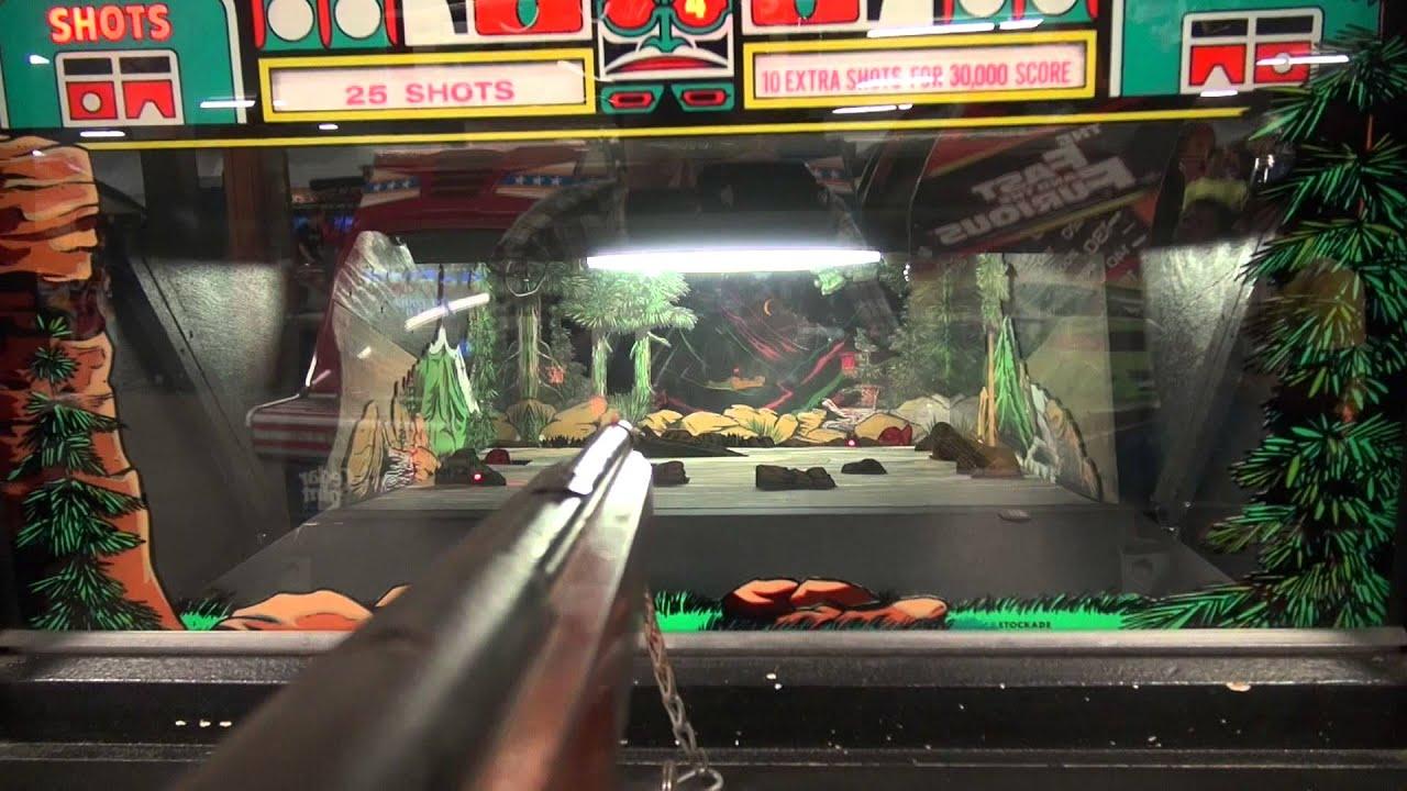 John goes to the Cedar Point Arcade in Sandusky, Ohio - Amusement Park