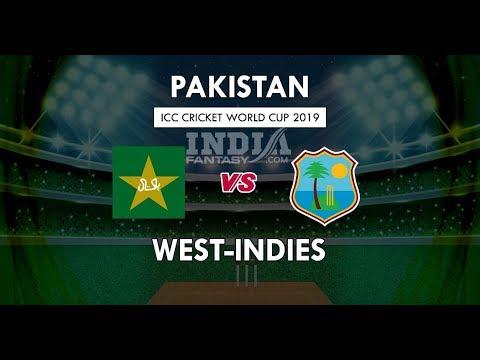 #LIVE - Pakistan Vs West Indies 2nd Match - Cricket World Cup 2019