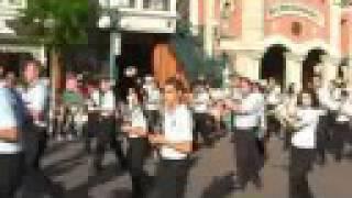 Banda de la Escuela de Música de Moguer - Disneyland Paris 4