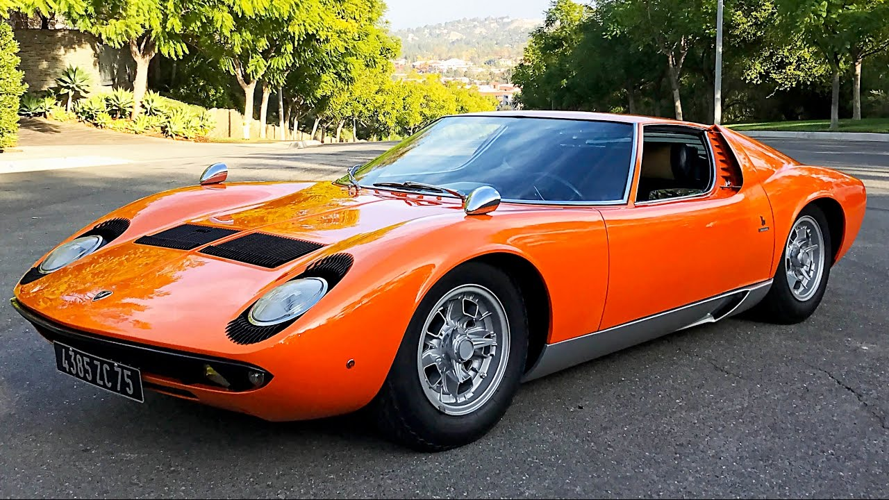 2 500 000 Barn Find Lamborghini Miura Time Capsule Youtube