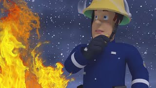Snow Fire |  Fireman Sam US 🔥❄️Fireman Sam Best Saves 🔥Cartoons for Kids