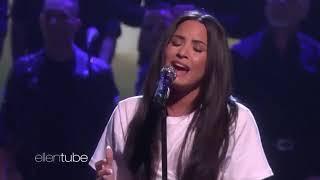 Demi Lovato Tell Me You Love Me Live Ellen Show 2018 Part 1