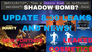 Fortnite Update 8.30 LEAKED Cosmetics , PLANES COMING BACK , FREE SAVE THE WORLD ITEMS! , NEW EVENT!