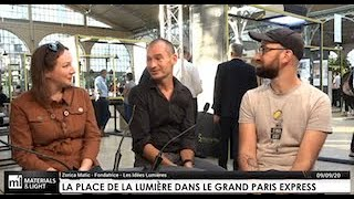 La place de la lumière dans le Grand Paris Express : interview de Florian Colin et Vincent Thiesson