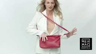 MeaMac Red Mea Tote and Slouch Pouch